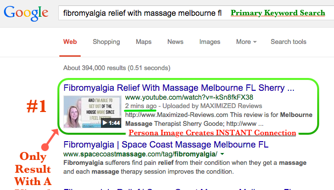 Video SEO Ranking for Massage Therapy