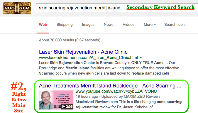 Video SEO For Skin Rejuvenation