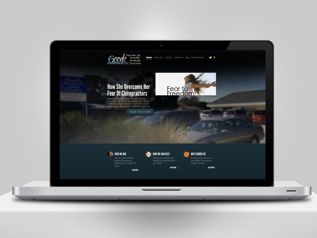 Goode Chiropractic Website