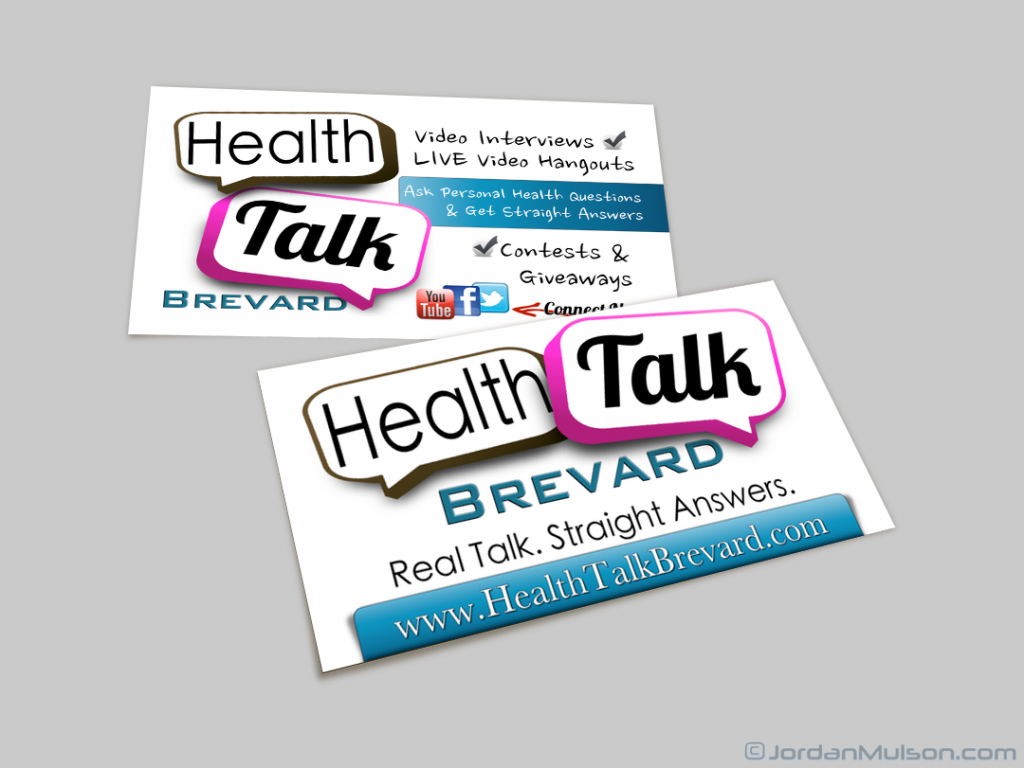 Health & Wellness Business Cards
