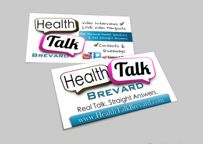 Health & Wellness Business Cards