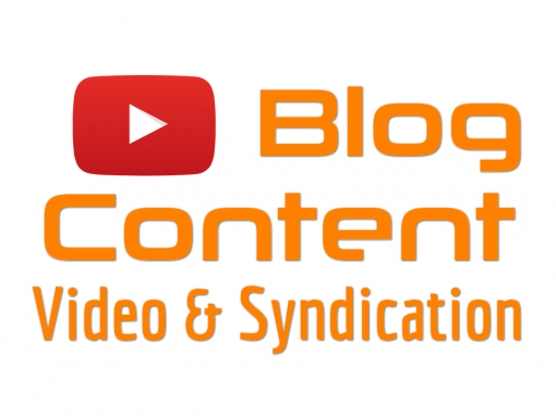 Blog Content Multimedia Creation and Syndication